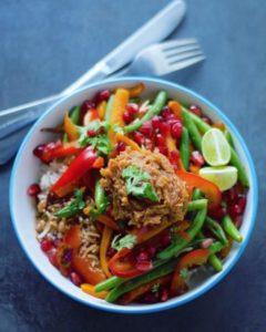 Eat with Fingers Vegan restaurant in Mauritius
